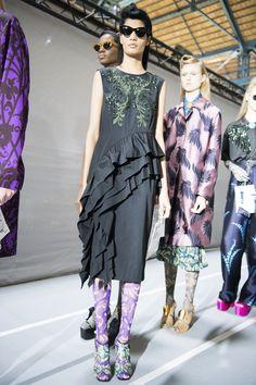 Dries Van Noten Spring 2016 Ready-to-Wear Fashion Show Beauty
