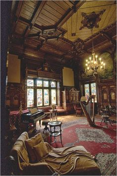 Music Room, Pele's Castle, Romania