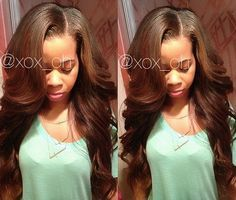 Full sew in and lace frontal unbeweaveable pinterest full sew
