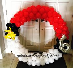 Pokemon Party Decorations, Balloon Decorations, Birthday Party Decorations, Pokemon Gengar, Pikachu, Pokemon Themed Party, Pokemon Birthday, Pokemon Balloons, 6th Birthday Parties