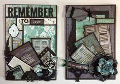 annes papercreations: Kaisercraft Blue bay 6 x 4 cards | #Scrapbooking #PaperCrafts