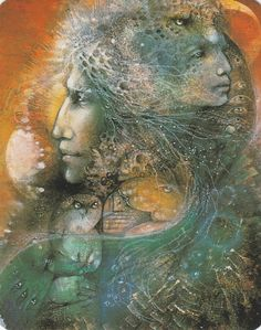 GODDESSES KNOWLEDGE CARDS BY SUSAN SEDDON BOULET