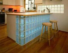 Glass Block Wall Des
