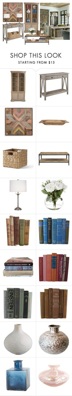 """""""FRENCH COUNTRY"""" by paula-parker ❤ liked on Polyvore featuring interior, interiors, interior design, home, home decor, interior decorating, Linon, Grandin Road, Lands' End and Robert Abbey"""