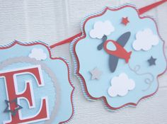 Hey, I found this really awesome Etsy listing at https://www.etsy.com/ca/listing/275154954/airplane-banner-birthday-banner-airplane