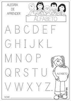 Tracing Worksheets, Alphabet Worksheets, Preschool Worksheets, Kindergarten Activities, Preschool Activities, Preschool Writing, Tracing Letters, Handwriting Practice, Pre Writing
