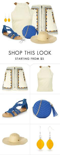 """""""Good Morning"""" by dgia ❤ liked on Polyvore featuring Isabel Marant, Erika Cavallini Semi-Couture, New Look, Nine West, Rip Curl and Kim Rogers"""