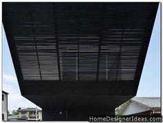 Modern Black Home in Japan - http://homedesignerideas.com/modern-black-home-in-japan