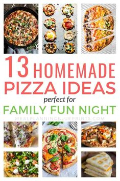 Tired of spending so much money on takeout? These easy homemade pizza recipes are delicious! Making your own homemade pizza dough, sauce, and toppings is a great way to save money on food. Avoid delivery and make the best pizza recipes at home, youll never go back!