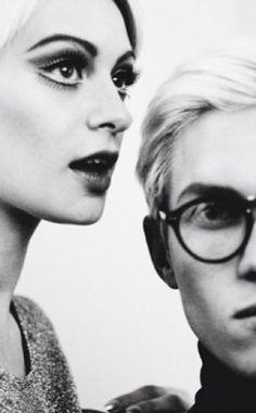 Edie Sedgewick & Andy Warhol...