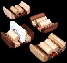 Tarjetero madera |  Tarjetero madera
