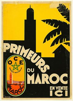 Ecole de BOUST - Les affiches coloniales  - années 1930
