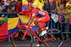 Nairo Quintana, stage 21 of the 2016 Vuelta a Espana