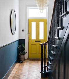 Imperfect interiors beth dadswell interior garden designer dulwich living hallway beth dadswell designer dulwich garden hallway imperfect interior interiors living 55 scandinavian hallway to work on today Hallway Colours, Home Interior Design, New Homes, Victorian Hallway, Entryway Stairs, House Front, House Entrance, Hallway Inspiration, Interior Garden