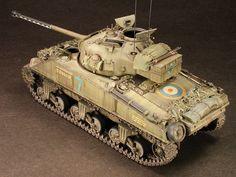 1/48 scale Sherman Mk VC Firefly by Pat Johnston