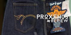 PROxFH05 The Flat Head x Pronto Jeans Review   Selvage Verge