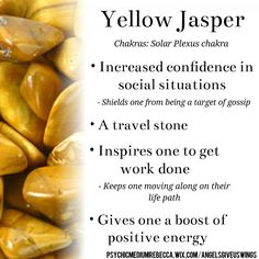 Yellow Jasper crystal meaning