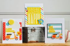 Summer Cards By Becki Adams Brought to you by Paper Issues