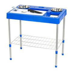 Outdoor living on pinterest porches covered porches and for Fish cleaning table bass pro