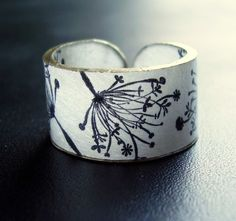 shrinky dink ring by etsy artist dillondesigns