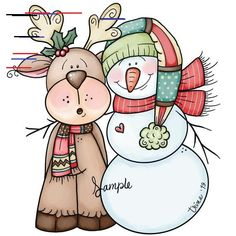 Christmas Clipart, Christmas Tag, Christmas Stuff, Christmas Paintings, Painting Patterns, Pictures To Paint, Christmas Pictures, Graphic Illustration, Illustrations