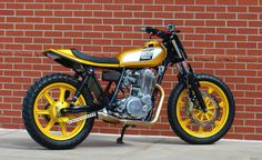 Garett Wilson's 1980 Yamah SR500 Street Tracker. Epicness on a Grand Scale!!