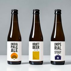 Craft beer packaging / unani_mousse - Design by L_st