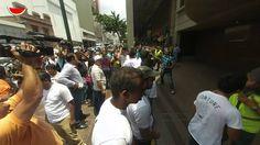 Estudiantes se encadenan al Palacio de Justicia 07/05/2014 #7M