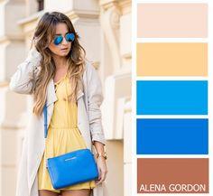 84ac2886355fb Kleuren combineren voor kleding. Colour Blocking Fashion