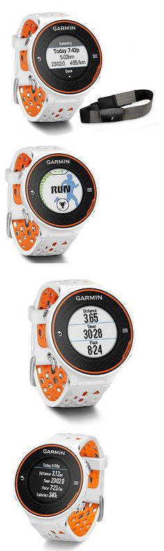 Heart Rate Monitors 15277: Garmin Forerunner 620 Gps Running Watch Heart Rate Monitor White/Orange Bundle BUY IT NOW ONLY: $189.99