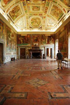 Palazzo Farnese a Caprarola Vt   Flickr - Photo Sharing!