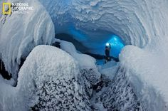Ice towers on Mount Erebus, Antarctica Travel: What are the most surreal places one can ever visit? - Quora