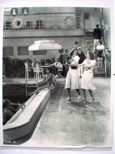 "Gracie Allen & Eleanor Powell in ""Honolulu"""