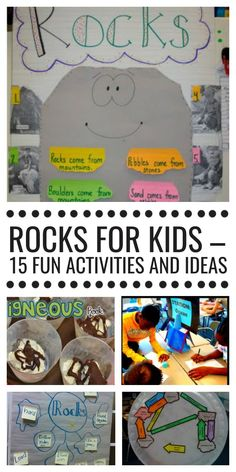 Rocks for Kids - 15 Fun Activities and Ideas {all free}