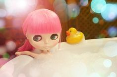 My blythe and me: In The Bathroom