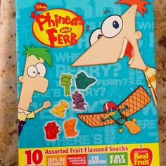 Phineas and Ferb fruit gummies