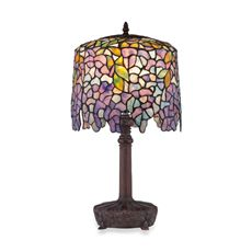 Quoizel Tiffany 1-Light Table Lamp - Bed Bath & Beyond $180