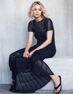 HQ Photoshoots of Jennifer Lawrence for #elle Malaysia magazine!