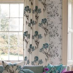 pavilion - limoges fabric | Designers Guild