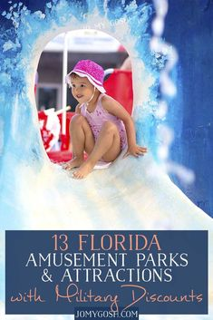 13 Florida Amusement Parks and Attractions with Military Discounts Military Spouse, Military Families, Bus Travel, Travel Tips, Travel Ideas, Navy Wife, Military Discounts, Florida Travel, Amusement Parks