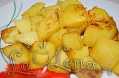 Cartofi cu mustar, la cuptor Romanian Food, Snack Recipes, Snacks, Curry, Lunch, Canning, Projects, Baking, Rezepte