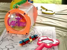Go on a bug hunt and use thes as party favors!