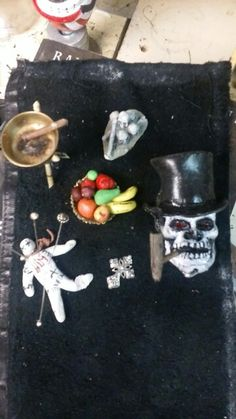 Pieces for a voodoo alter...