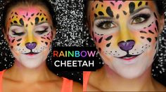 Rainbow Cheetah Makeup Tutorial (Lisa Frank Inspired) | Bailey B.