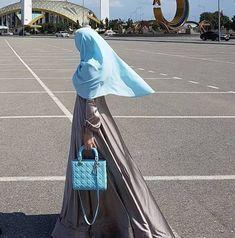 Abaya Fashion, Muslim Fashion, Modest Fashion, Fashion Outfits, Womens Fashion, Hijab Dpz, Bff Tattoos, Islam Religion, Muslim Girls