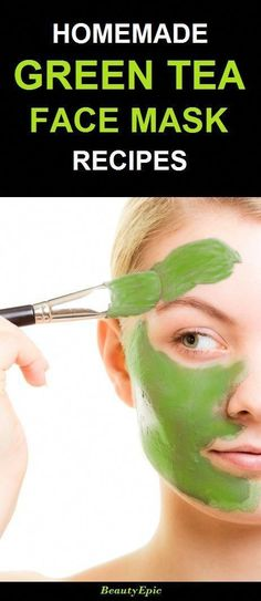 Draw Face homemade green tea face mask - The face mask prepared by inclusion of green tea and many other ingredients has lots of skin benefits. Here are some effective homemade green tea face mask Masque Facial Diy, Diy Masque, Facial Masks, Face Scrub Homemade, Homemade Face Masks, Homemade Blush, Diy Peeling, Green Tea Face, Acne Face Mask