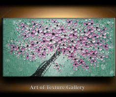 FOR LWALSH Charity Large Big Oil Impasto Painting Original