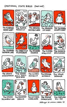 gemma correll's tumblr of things and stuff — (via Four Eyes Comic Strip on GoComics.com)