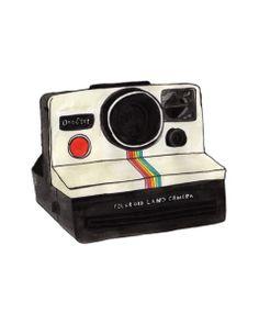 Polaroid-land-camera illustration by jen meyer #art #illustration