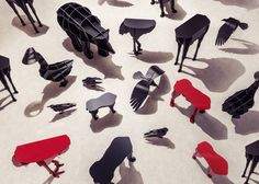 Mobilier de Compagnie collection.  ibride catalogue 2016-2017 #home #design #outdoor #decoration #furniture #animal #stool #console #bookshelf photo CyrilleRobin www.ibride.fr